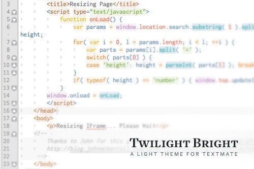 Preview: Twilight Bright