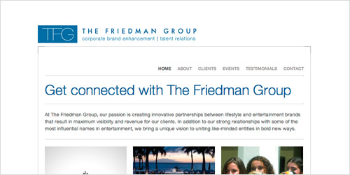 Preview: The Friedman Group