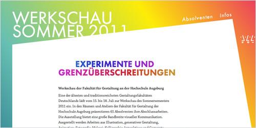 Werkschau Sommer 2011